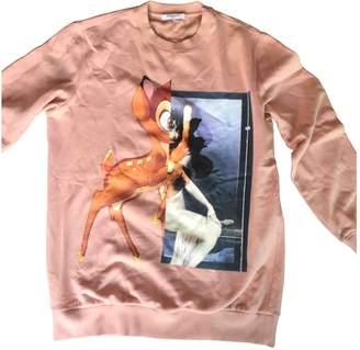 Givenchy Orange Cotton Knitwear