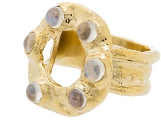 MONDO MONDO Moonstone Detail Ring