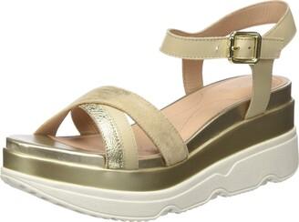 Geox Women's Gardenia Metallic Sandal