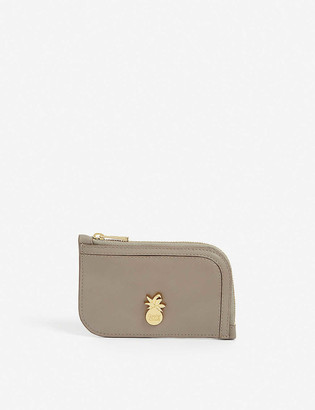 See by Chloe Pineapple leather card holder