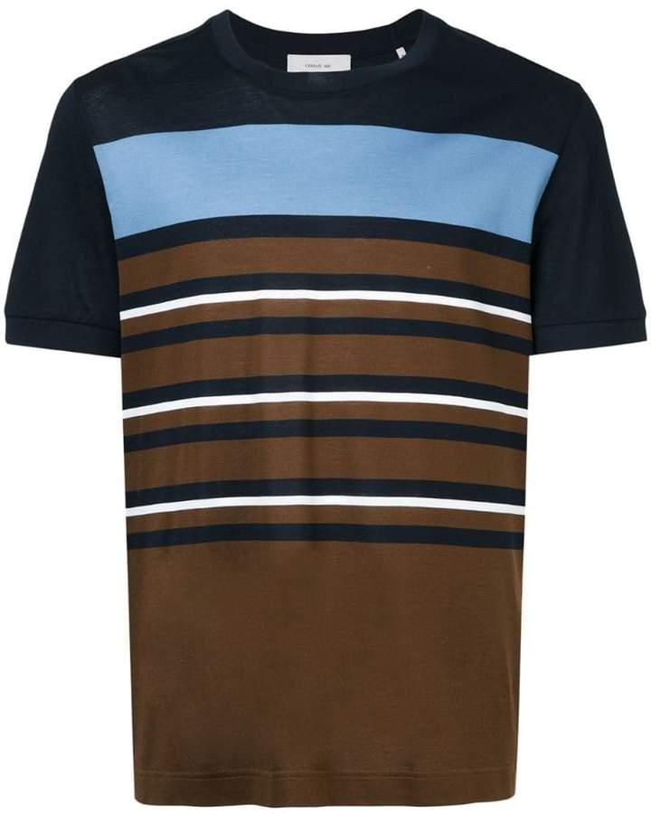 Cerruti block stripe T-shirt
