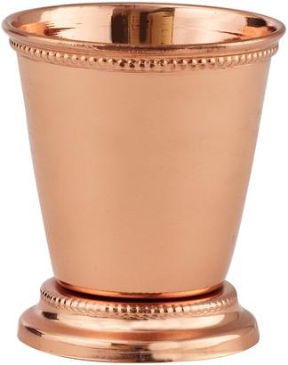 Elégance Copper Plated Mint Julep Cup 2.75-Inch
