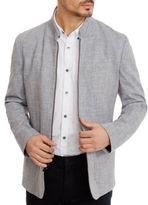 Kenneth Cole Zip Front Blazer