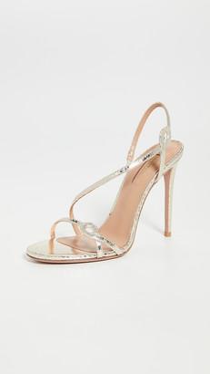 Aquazzura 105mm Serpentine Sandals