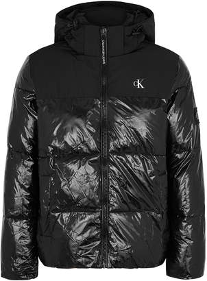 Calvin Klein Jeans Black Quilted Shell Jacket