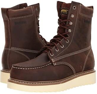 Wolverine Loader 8 Steel Toe Boot (Brown) Men's Work Boots
