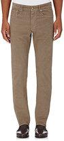 Incotex Men's Ray 5-Pocket Corduroy Pants-GREY