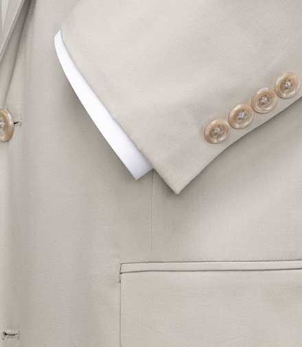 Jos. A. Bank Natural Stretch 2-Button Poplin Suit- Extended Sizes