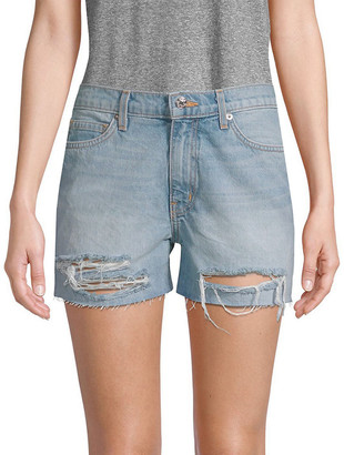 Dtla Brand Jeans Dtla Distressed Denim Shorts