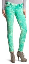 Mavi Jeans Women's Skinny Fit Jeans - Green - Grün (12391 LINDY; green random str) - 30/34 (Brand size: 30/34)