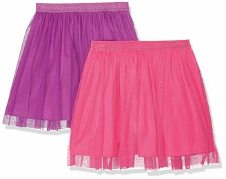 Spotted Zebra Amazon Brand Girls' Big Kid 2-Pack Tutu Skirts
