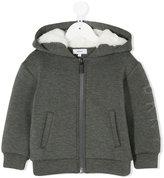 DKNY faux fur lined hoodie