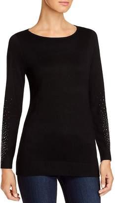 Sioni Rhinestone-Embellished Sweater