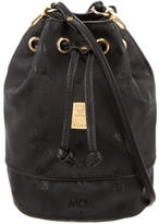 MCM Mini Heritage Drawstring Bucket Bag