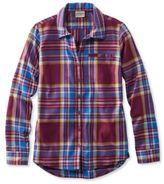 L.L. Bean Bean's Fall Flannel Shirt, Plaid