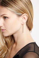 BCBGeneration Slim Drop Earrings - Gold