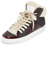 Maison Margiela Lace Up High Top Sneakers