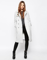 Asos Trench with Contrast Detail