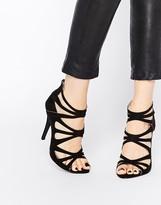 London Rebel Strappy Heeled Sandals
