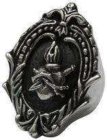 Femme Metale Jewelry Framed Sacred Ring