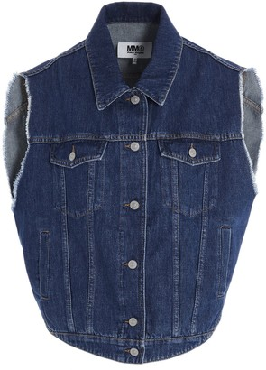 MM6 MAISON MARGIELA Circular Denim Vest