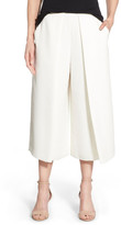 Vince Camuto Pleat Waist Culottes