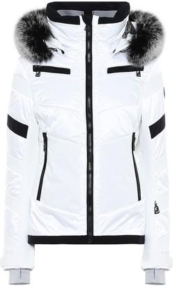 Toni Sailer Luna fur-trimmed ski jacket