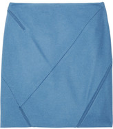 Jil Sander Geometric wool-blend skirt