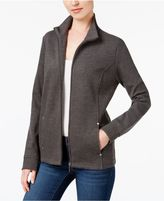 Karen Scott Zip-Up Mock-Neck Jacket, Created for Macy's