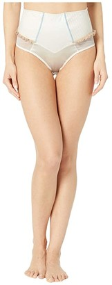 Kiki de Montparnasse Bridal High-Waisted Panty (Ivory/Nude) Women's Underwear