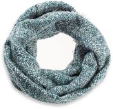 Oversized Boucle Yarn Infinity Scarf