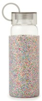 Kate Spade Glitter 16-Ounce Glass Water Bottle