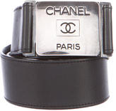 Chanel Leather Waist Belt