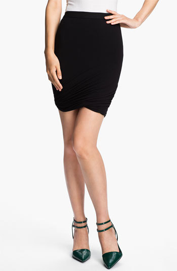Alexander Wang Twisted Hem Skirt