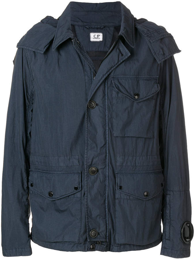 C.P. Company zipped fitted jacket
