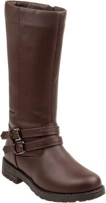 KensieGirl Tall Studded Buckle Boot