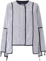 PAM striped padded jacket