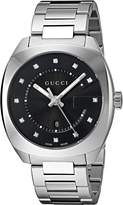 Gucci Men's YA142404 Analog Display Swiss Quartz Watch
