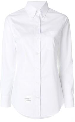 Thom Browne button-down slim-fit shirt