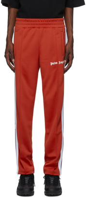 Palm Angels Red Classic Track Pants
