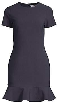 LIKELY Women's Beckett Ruffle-Hem Bodycon Dress