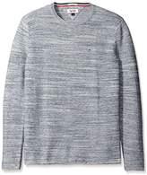 Tommy Hilfiger Men's Space Dye Crew Neck Sweater