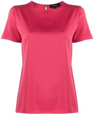 Theory Short-Sleeved Blouse