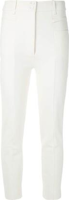 Gloria Coelho Skinny Cropped Trousers