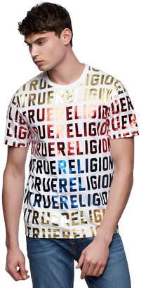True Religion ALLOVER PRINT TEE