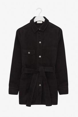 Frisur - Brushed Black Sara Safari Jacket - Black / XS