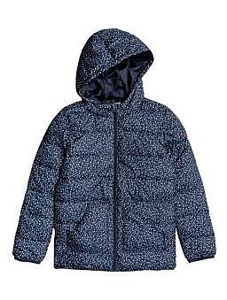 Roxy Glitter Shell Jacket (Girls 8-14 Yrs)