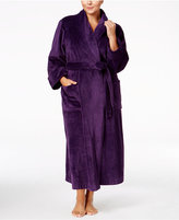 Charter Club Plus Size Super Soft Shawl Collar Long Robe, Only at Macy's