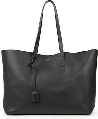 Saint Laurent Large Leather Shopper