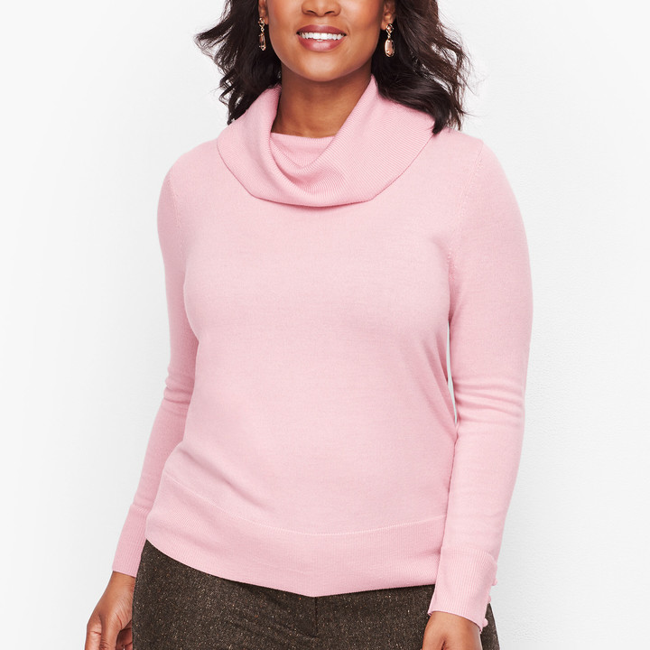 Talbots Merino Cowlneck Sweater